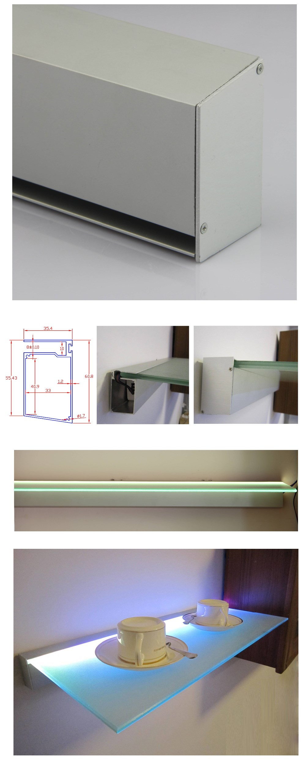 Wandplank Met Lampje.Plank Met Spotjes Ikea Good Tvdressoir Teak Cm Staande Tv Meubelen