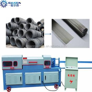 Mini Cnc Steel Bar Straightener And Cutter - Buy Cnc Steel Bar Straightener  And Cutter,Straightener And Cutter Product on Alibaba com
