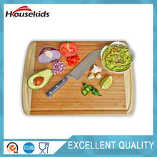 Bamboo Cutting BOARD & Kitchen Chopping Board with Groove