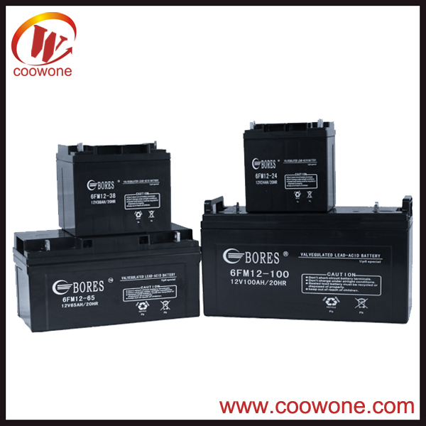 Low self discharge rate advanced agm glass mat battery