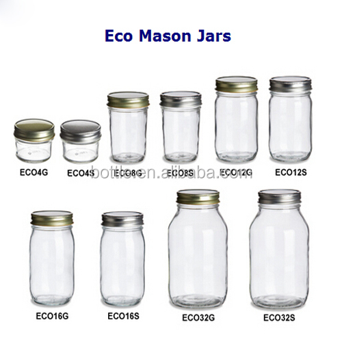 1oz 2oz 4oz Eco Mason Jars Buy 1oz Jars 1oz Eco Mason