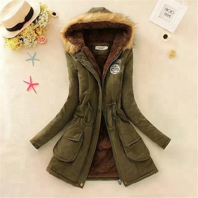 Coldker 2018 नई Parkas महिला महिलाओं सर्दियों कोट उमड़ना कपास सर्दियों जैकेट महिला घिसना Parkas