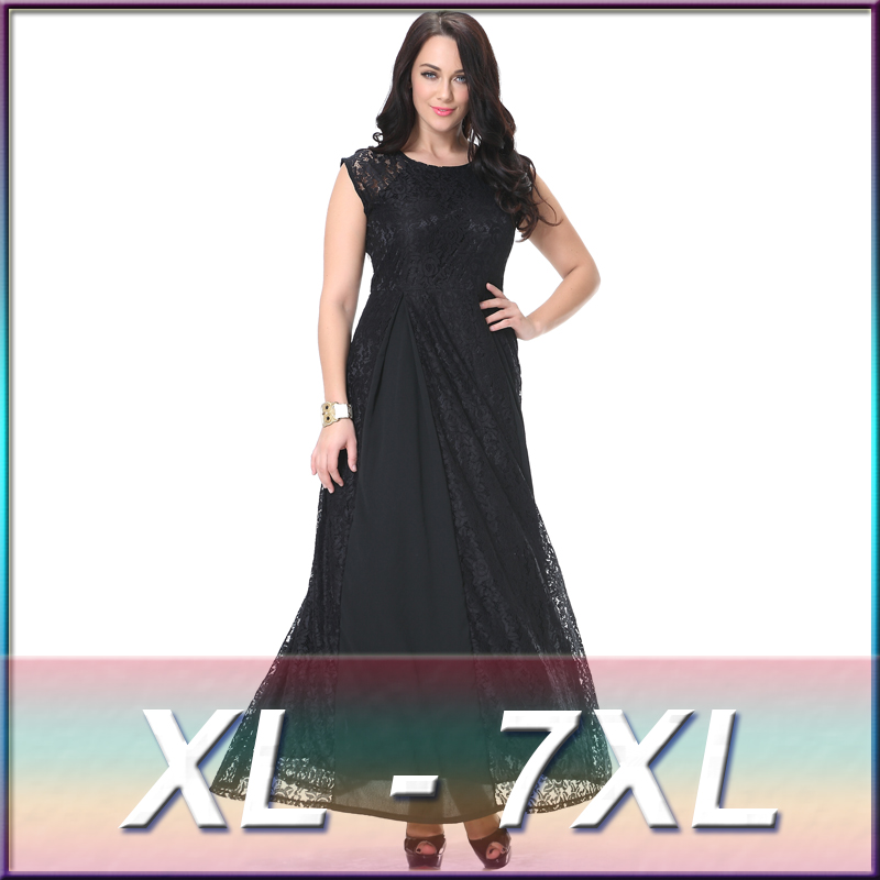 Patterns Of Lace Evening Dress Fat Women Dresses Western Party Wear