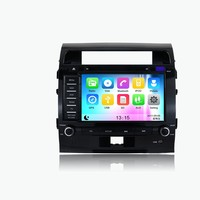 New! 8 inch 2 din Android 5.1.1 system car radio/car DVD player with Mirror link/GPS for TOYOTA Land Cruiser 200 2008-2012