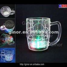 multicolor light led beer mug