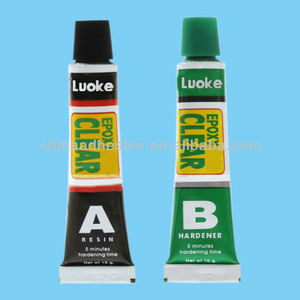 Super Strong Epoxy Clear A+B Colloid Glue Adhesive