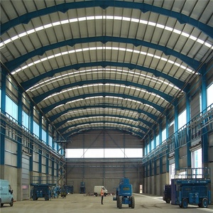 steel structure warehouse in steel structure  including factory/hangar/workshop.