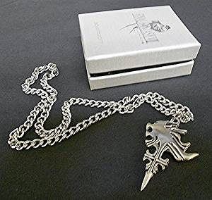 Buy 1 x final fantasy viii 8 squall leonhart sword keychain gunblade final fantasy viii squalls griever necklace in a final fantasy viii gift box mozeypictures Image collections