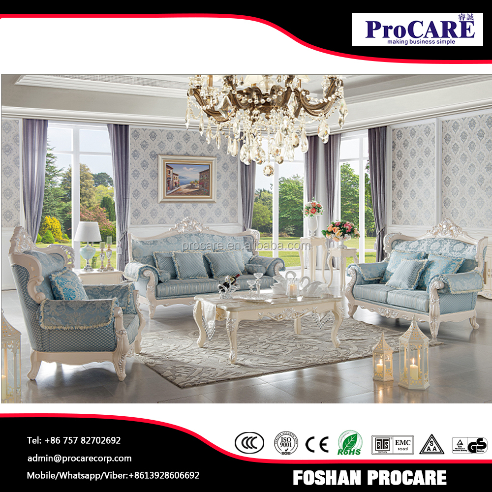 Good quality living room furniture sofa set for villa house