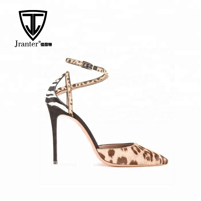 Sexy Leopard Pointy Printed Stilettos Women Toe Pumps High Dress Shoes Heels RdYqRw51