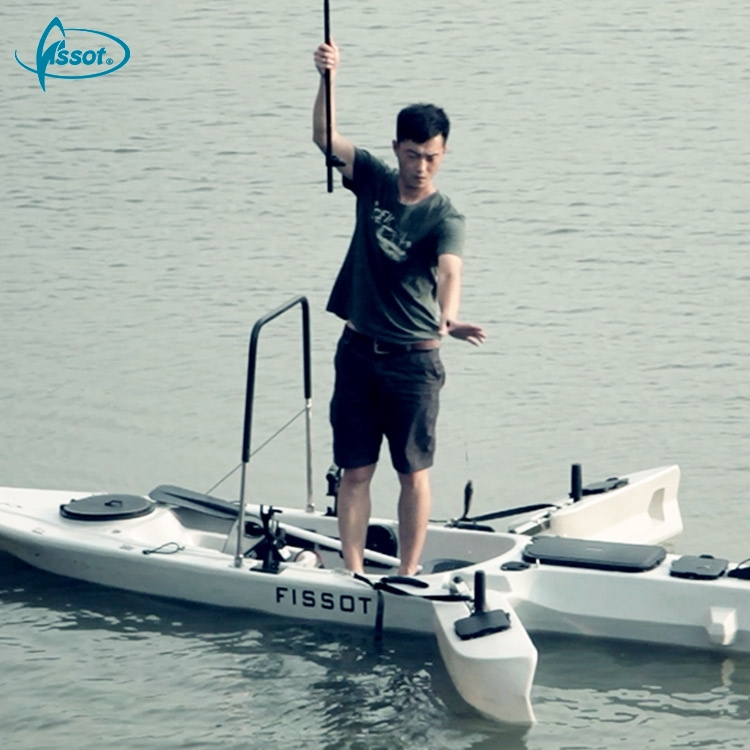 Hot sale 330 CM powered canoe jet fishing kayak with 40 LBS motor