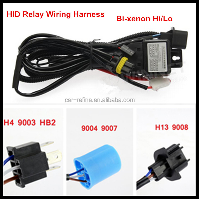 Xenon HID Conversion Kit Relay Wiring Harness h3 short hid bulb, h3 short hid bulb suppliers and manufacturers  at eliteediting.co