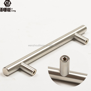 Stainless Steel Material and Drawer Usage SS round bar cabinet handles
