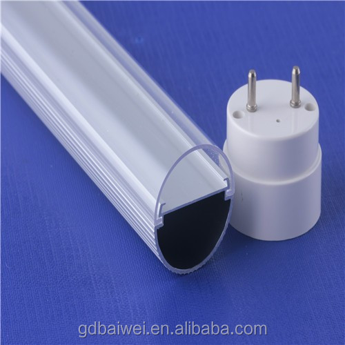 ceiling light t8 round tube housing good aluminum profile