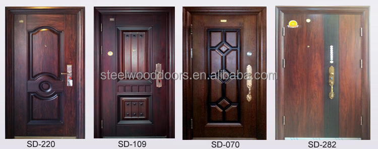 Steel Gatehouse Cheap Chinese Security Door