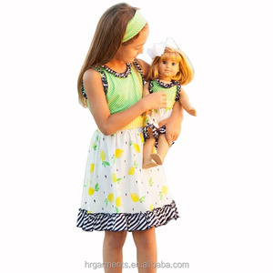 wholesale 28 inch girl doll clothes children dress for 2-10 year