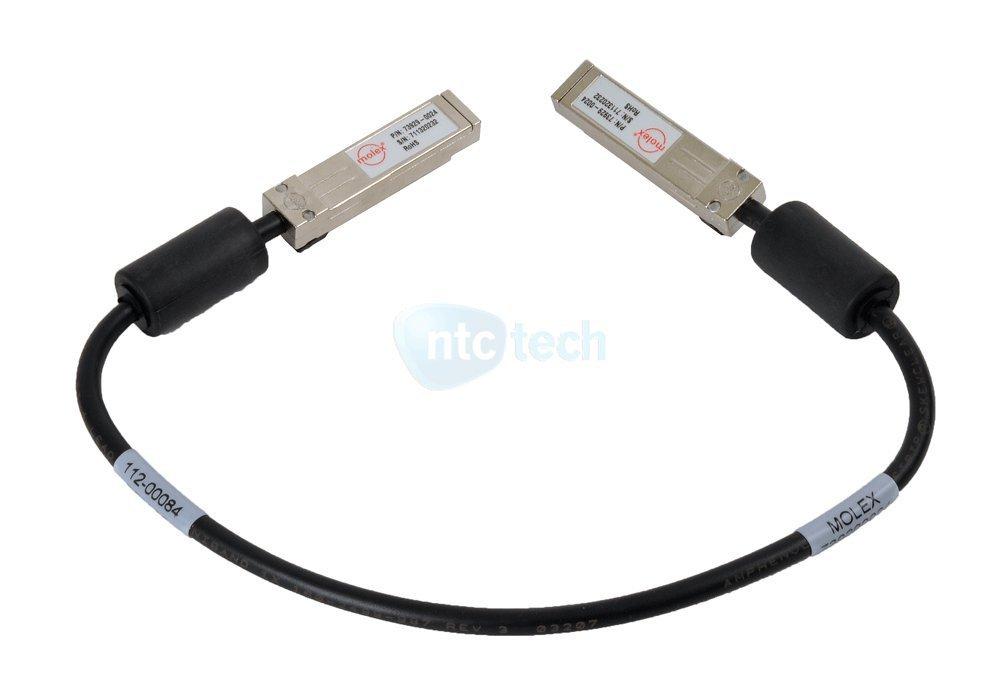 NETAPP MOLEX 112-00084 FIBRE OPTIC CHANNEL SFP INTERCONNECT CABLE
