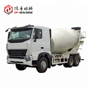 New condition 8m3 HOWO cement mixer truck hyundai mixer truck