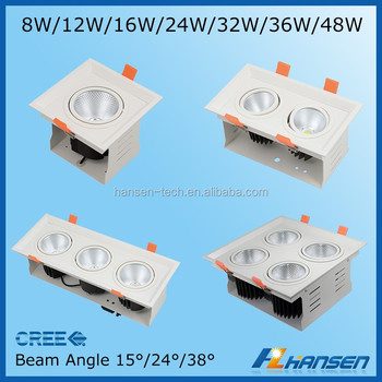 Led 12w Double Grille Lamp Innovative Products Led Grille Light ...