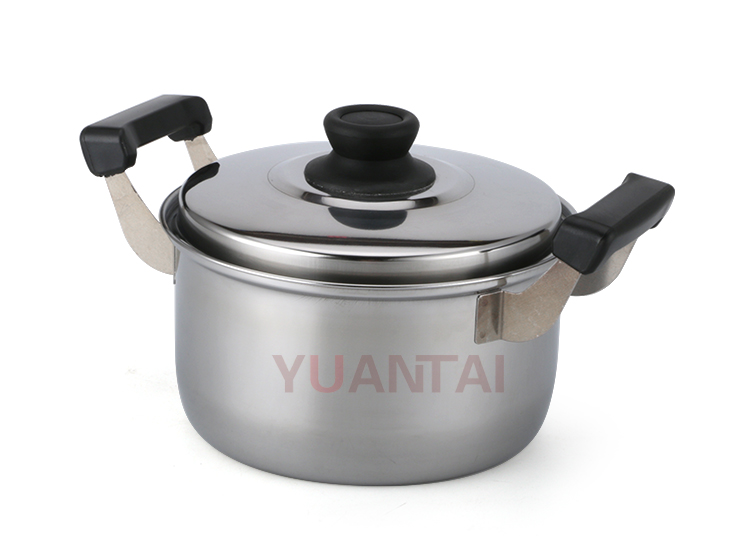New style 16/18/20/22/24cm 5set colorful box stainless steel indian stock pot sets cookware sets with lid