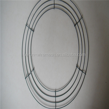 herun christams wire wreath frame wholesale wire wreath forms - Wire Wreath Frame Wholesale