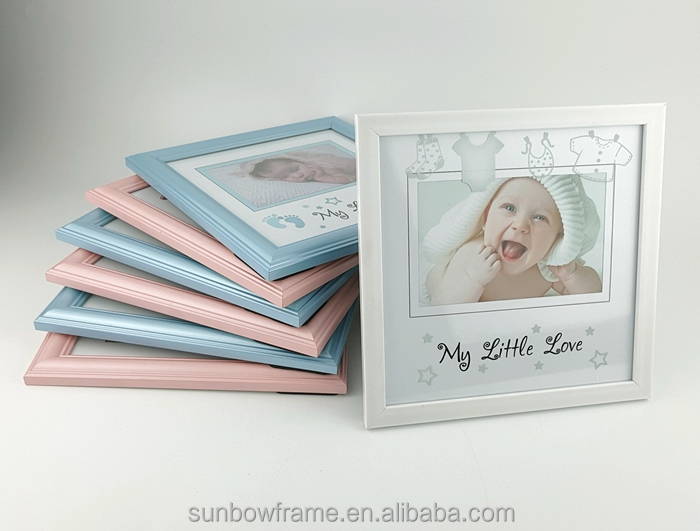 Factory price baby picture frames wholesale Customized