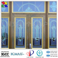 Fashionable durable best selling professional chinese decorative glass hanging flower wall art