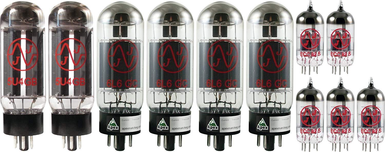 x4 EL34, x4 12AX7 JJ Tubes Crate V100H Tube Set