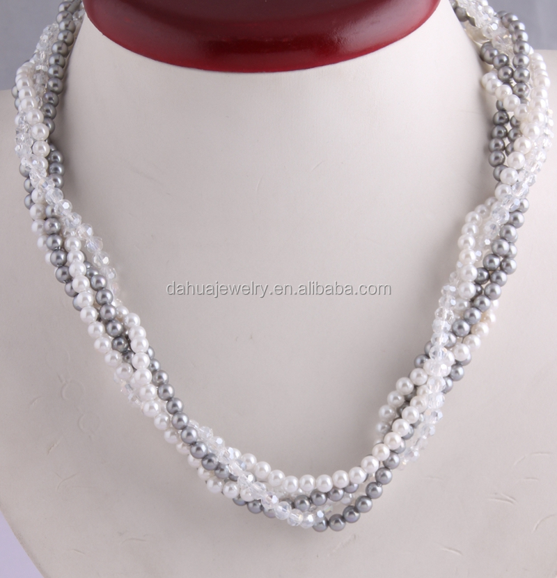 Unusual Crystal Bead Necklace Designs Ideas - Jewelry Collection ...