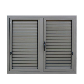 Customized Aluminum Fixed Window Metal Louver Price