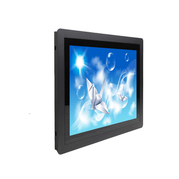 wall mount true flat open frame lcd monitor 27 inch monitor for industrial machines