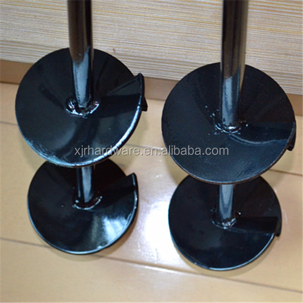 Helical Screw Piles, Ground Screw Pole Anchors