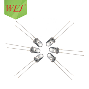 5mm concave type led diode 2pin RGB led