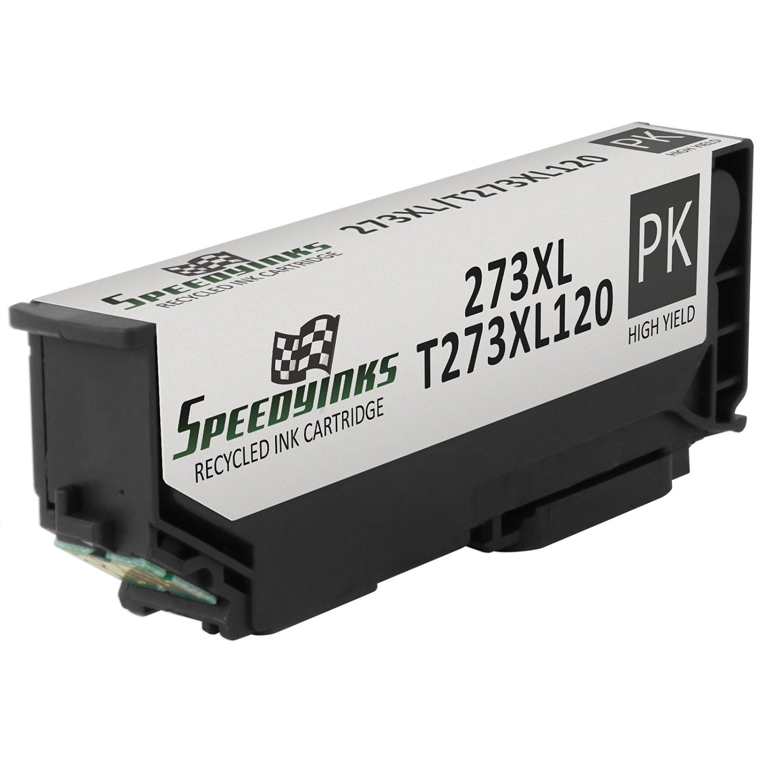 Speedy Inks - Remanufactured High Yield Photo Black Ink for Epson T273XL 273XL TT273XL120for use in Epson Expression XP-600 Small-in-One, XP-800 Small-in-One, Premium XP-610 Small-in-One, Premium XP-810 Small-in-One, Premium XP-520 Small-in-One, Premium XP-620 Small-in-One, Premium XP-820