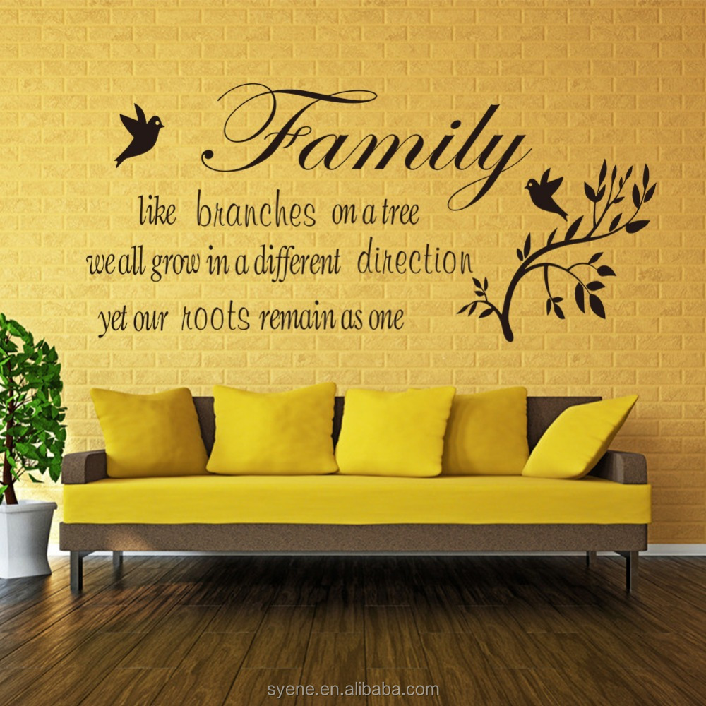 3d Large Round Wall Decor Wall Stickers Home Decor Art Vinyl ...
