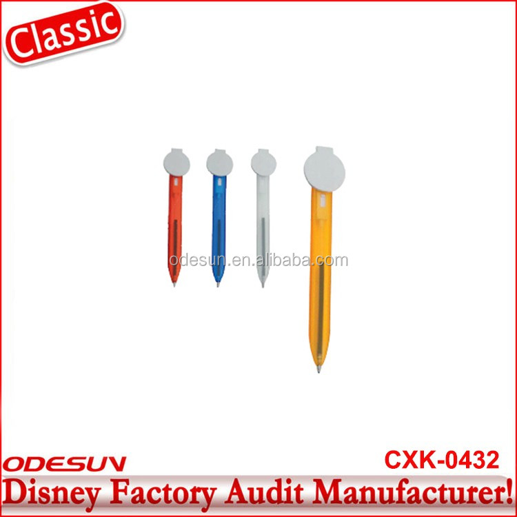 Disney Universal NBCU FAMA BSCI GSV Carrefour Factory Audit Manufacturer Promotion Liquid Floater Ball Pen With Led Light