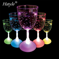 Party Supplies Barwear Decorative Flashing Led Goblet Wine Cups Drinking Glasses SL009