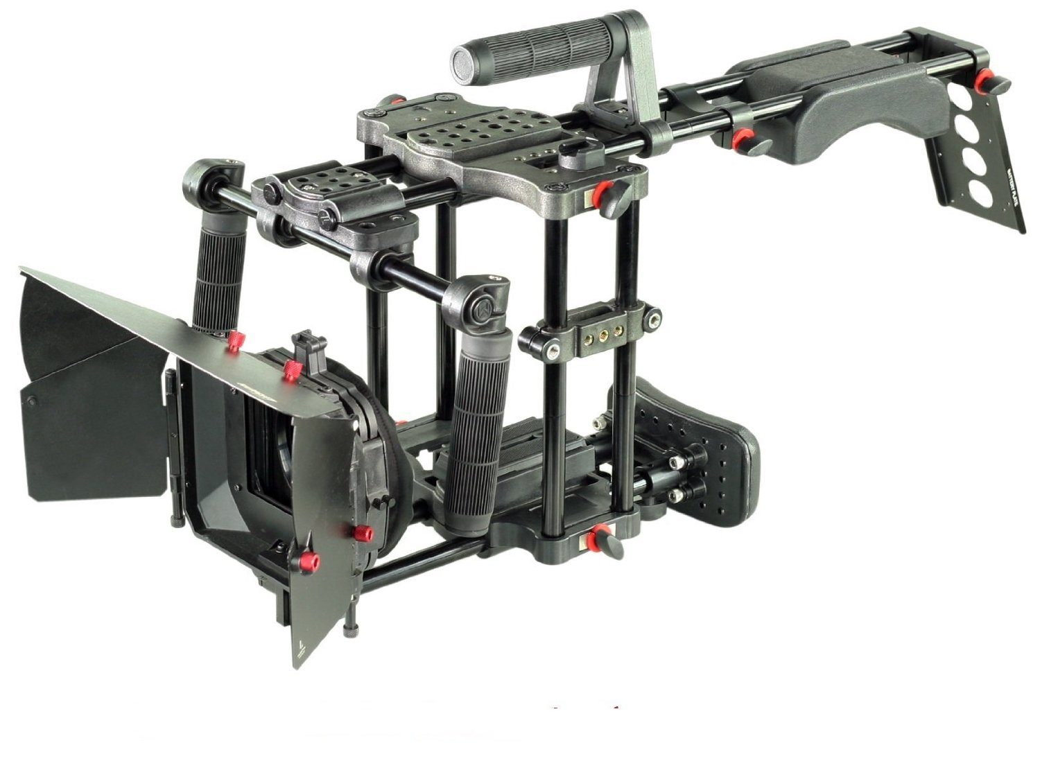 FILMCITY Power BELLY CRUZER - DSLR Shoulder Mount Support Rig Cage Matte box (FC-BC-DSR-P) Video Camera Stabilizer Kit Free Accessories