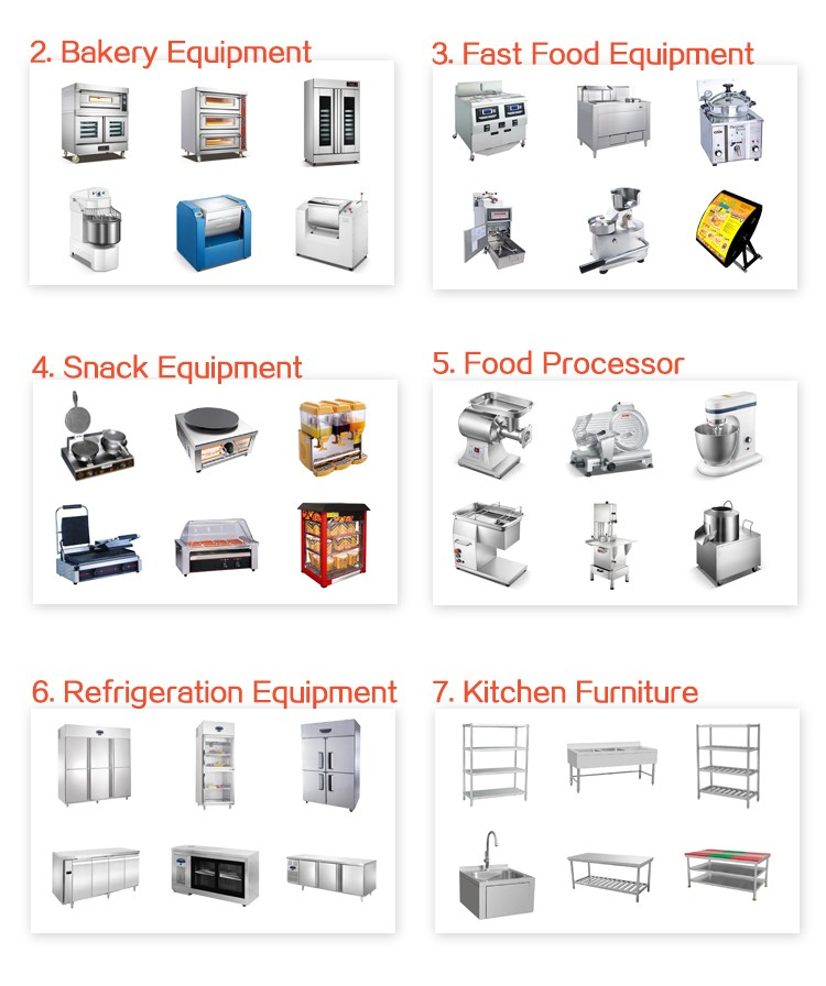 15 Year Professional Restaurant Equipment(CE)