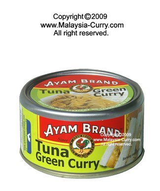 AYAM BRAND - can -Tuna Green Curry