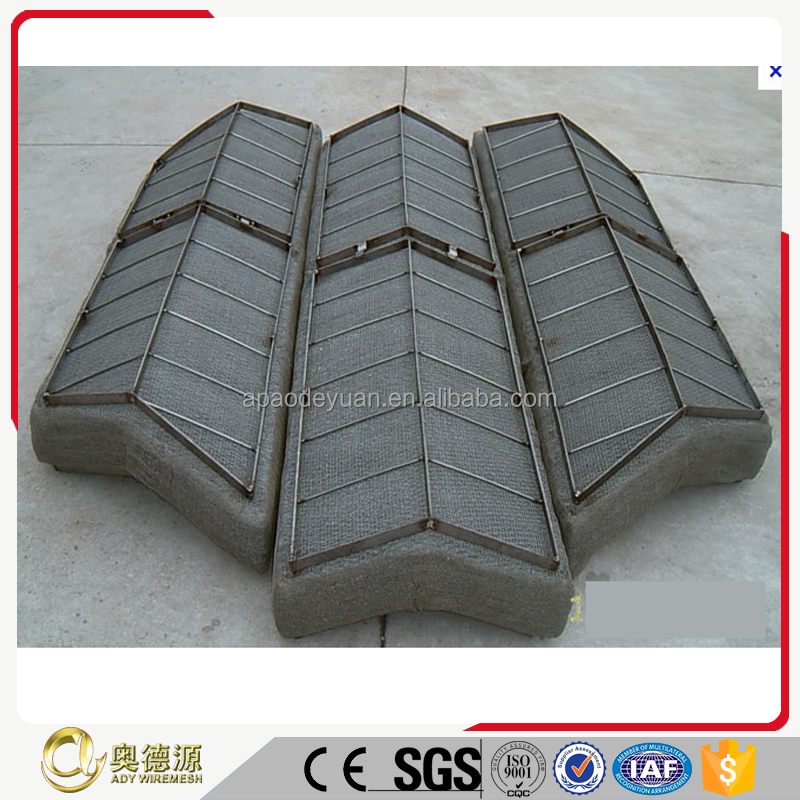 SS 304 best price demister pad/demister filter wire mesh/mist eliminator for oil tanker