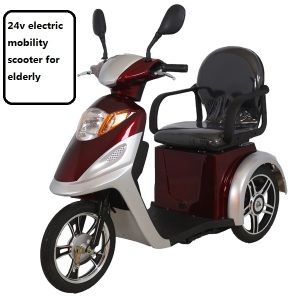 2017 New model tricycle 3 wheel electric mobility scooter for sale