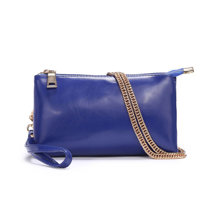 Women Messenger Bags Genuine Leather Bag 2015 New Women Shoulder Bags Mini Vintage  Day Clutches Women Leather Handbag Wholesale