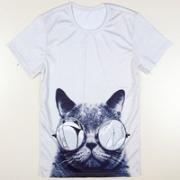 2017 Summer Hot Sale 3D T-shirt Fashion 3D Animal T-shirt Men T-shirt