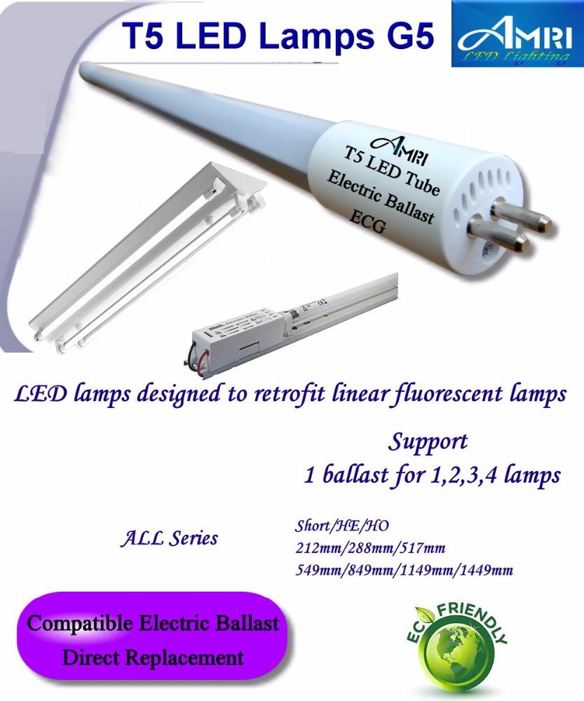 T5 1.5m Led Tube G5;t5 Led Tube;compatible Electronic Ballast ...
