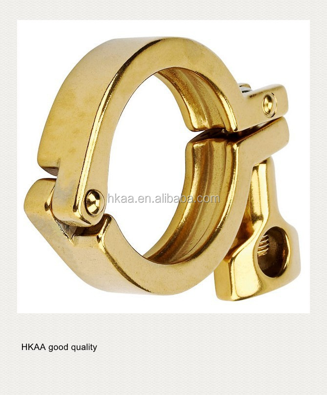 china special custom good quality brass wing nut clamp with screw