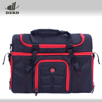 6 Pack Fitness Meal Prep Management Bag For Gym Bodybuilding Travelling Picnic