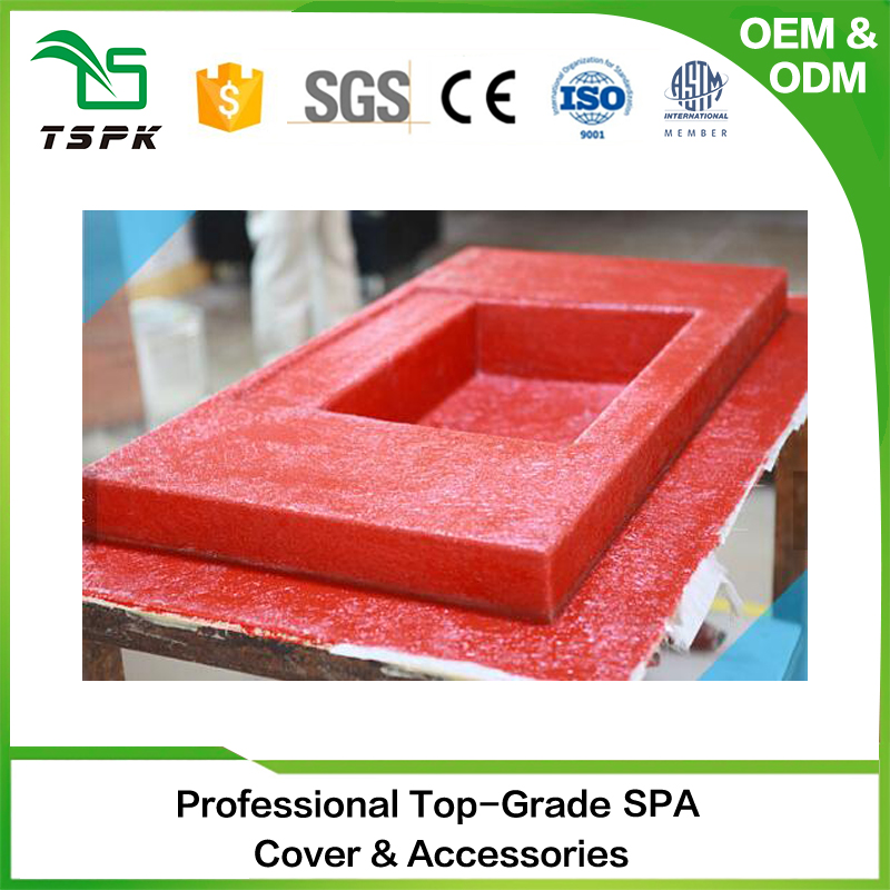 2017 new products spa making plaster plastic relaxed hot tub mold