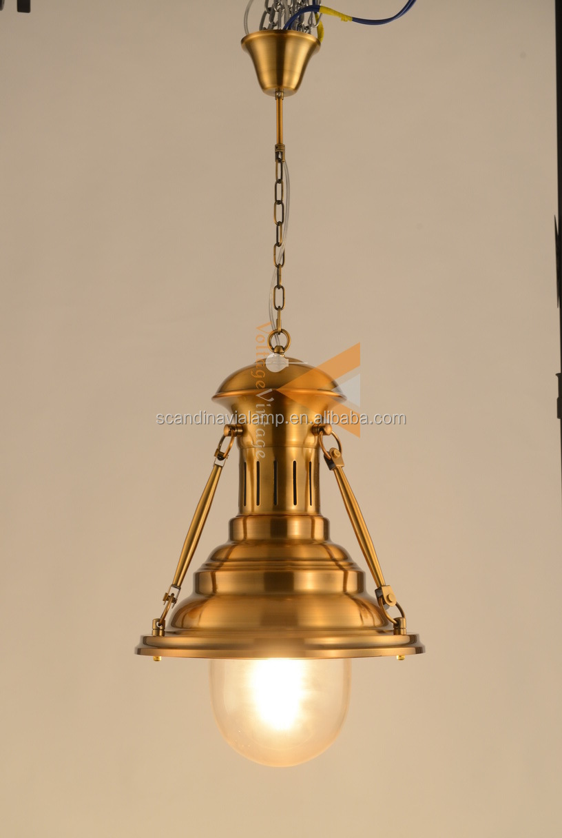 Manufacturer's Modern Light Fittings Vintage Loft Brass ...