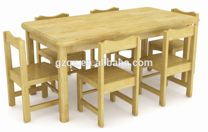 Imported pine wood student table chair wooden children - Pine wood furniture designs ...